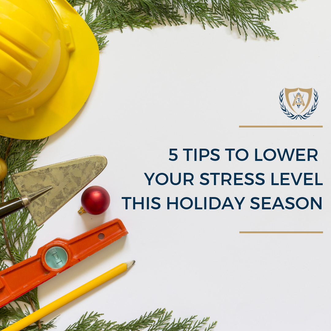 5 Tips to Lower Your Stress Level This Holiday Season