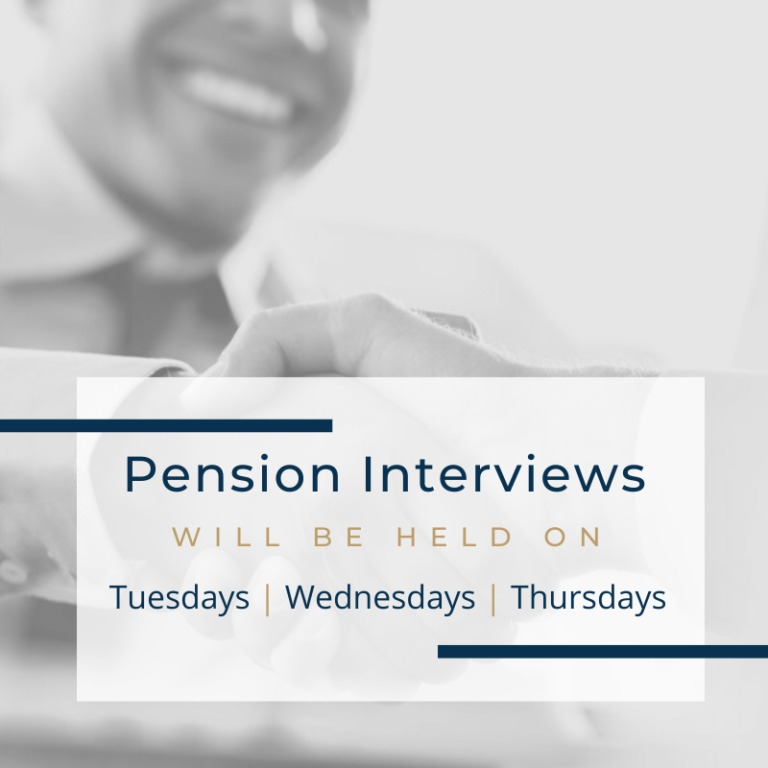 Pension Interviews in 2020